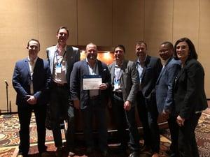 2018 Cisco Partner Summit Award Group