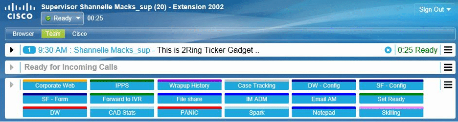 2 Ring - Cisco Finesse Image