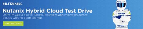 Nutanix Clusters Blog - Nutanix Hybrid Cloud Test Drive Banner Image