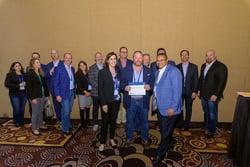 Internetwork Engineering receiving award at Cisco Partner Summit 2018