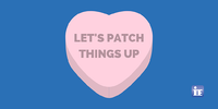 patch things up